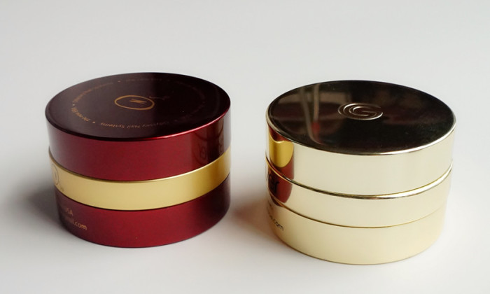empty cosmetic jar for skincare