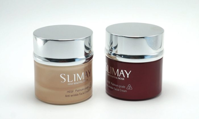 thick wall glass face cream containers