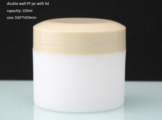 lastic jar for cosmetics and skincare product