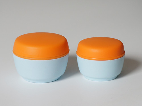 empty packaging container for skincare product