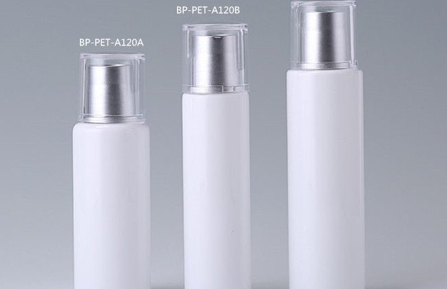 cylinder round PET cosmetic containers