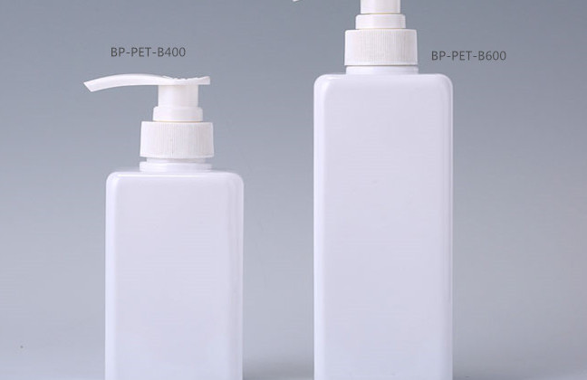 plastic cosmetic containers for lotion, shampoo, hand wash
