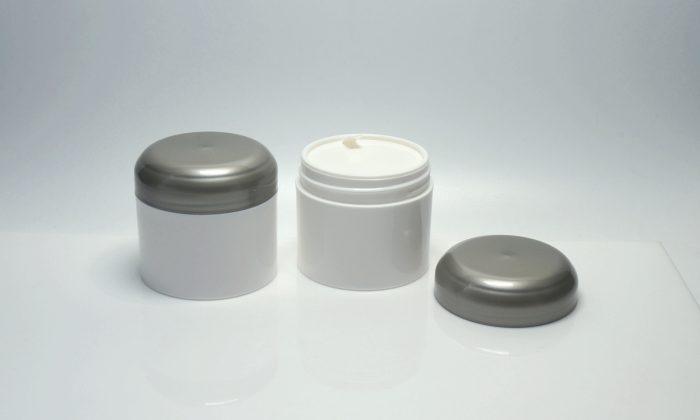plastic cosmetic containers for skin care, hair care