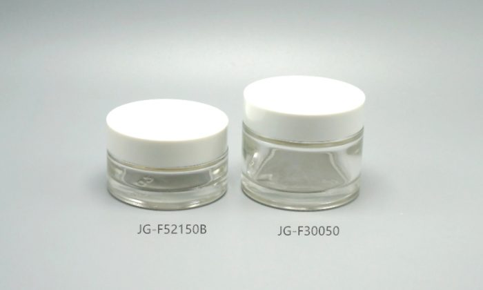 glass cosmetic containers, primary packaging for skin care