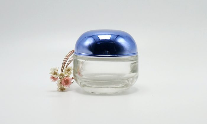 face cream glass cosmetic containers