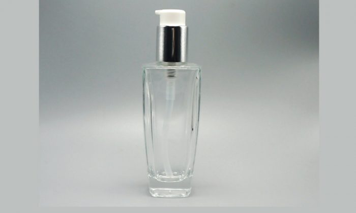 flint glass bottles for skin care and body care products packaging