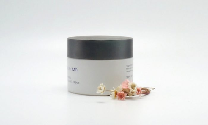 flint glass cosmetic jars for facial mask