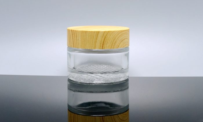 flint glass cosmetic containers for skin care