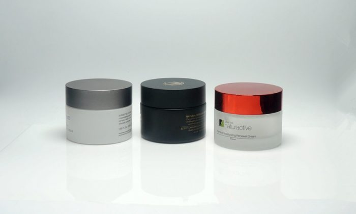 glass primary packaging for facial mask