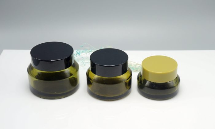 glass primary packaging for moistrurizer, facial mask