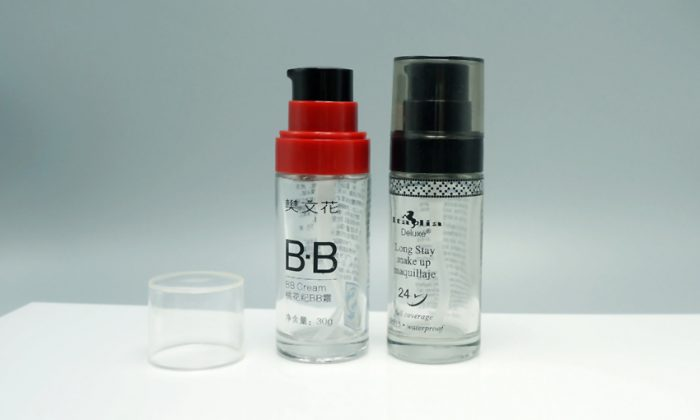 glass primary cosmetic packaging from cosmetic packaging manufacturer in China