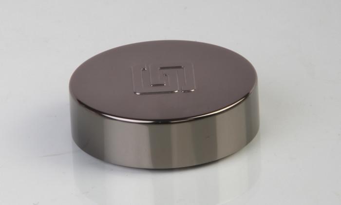 aluminum cap for cosmetic jar, cream jar