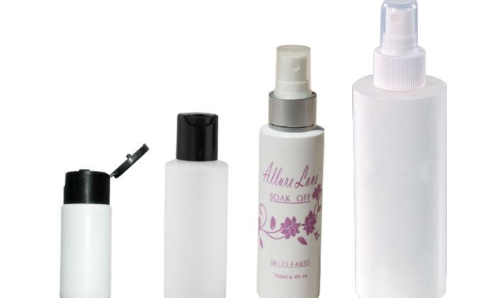 soft white lotion bottle