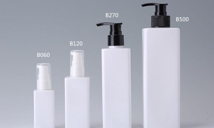 square plastic bottles