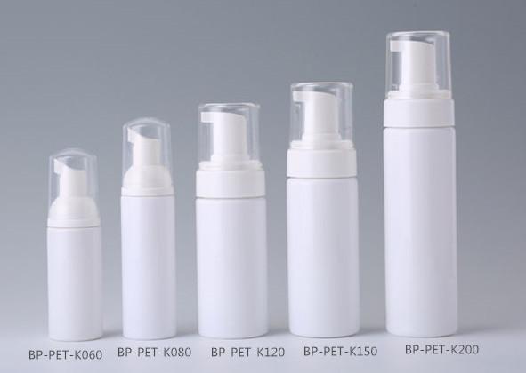 plastic foam bottles,