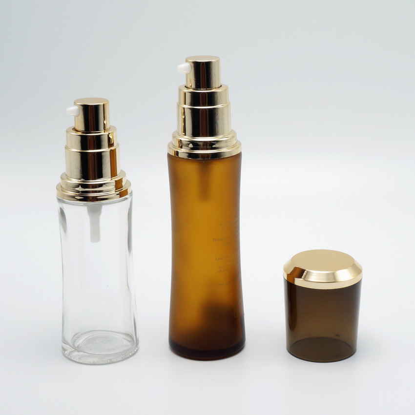 glass serum bottle