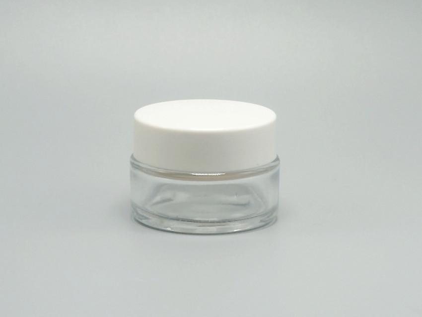 Ml Frosted Glass Eye Gel Jar
