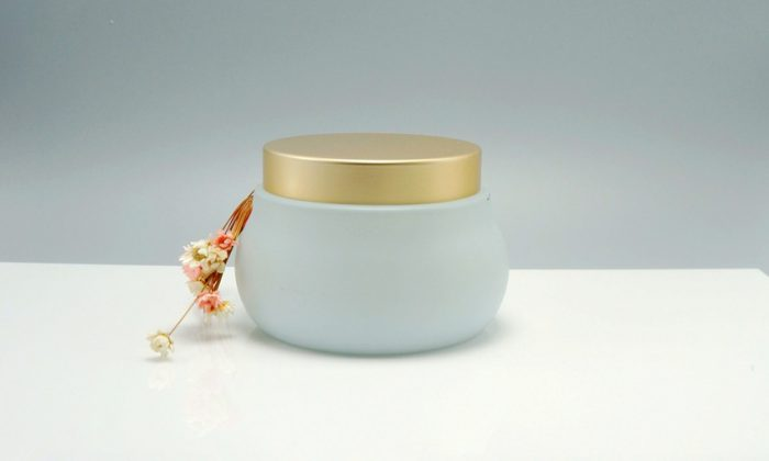 wide mouth glass containers for health and beauty, personal care.