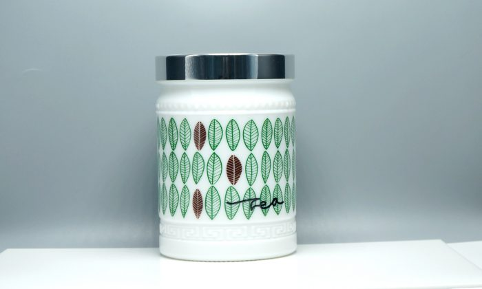 opal white glass jars for body lotion, bath tea